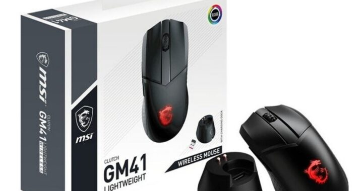 MSI released the Clutch GM41 Lightweight Wireless mouse