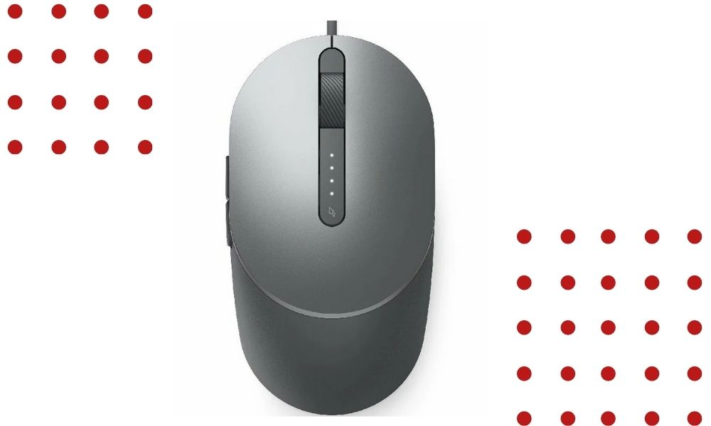 clean a Dell mouse